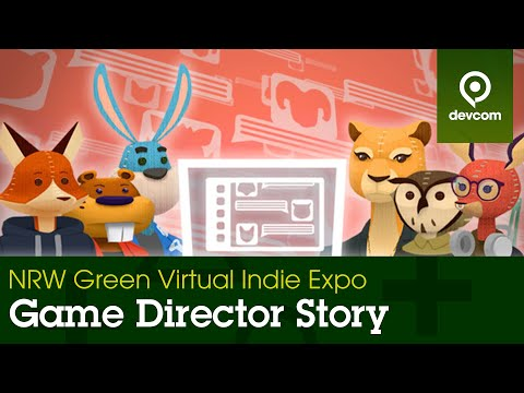 """""""Game Director Story"""" - Double Blit Games   NRW Green Virtual Indie Expo  """