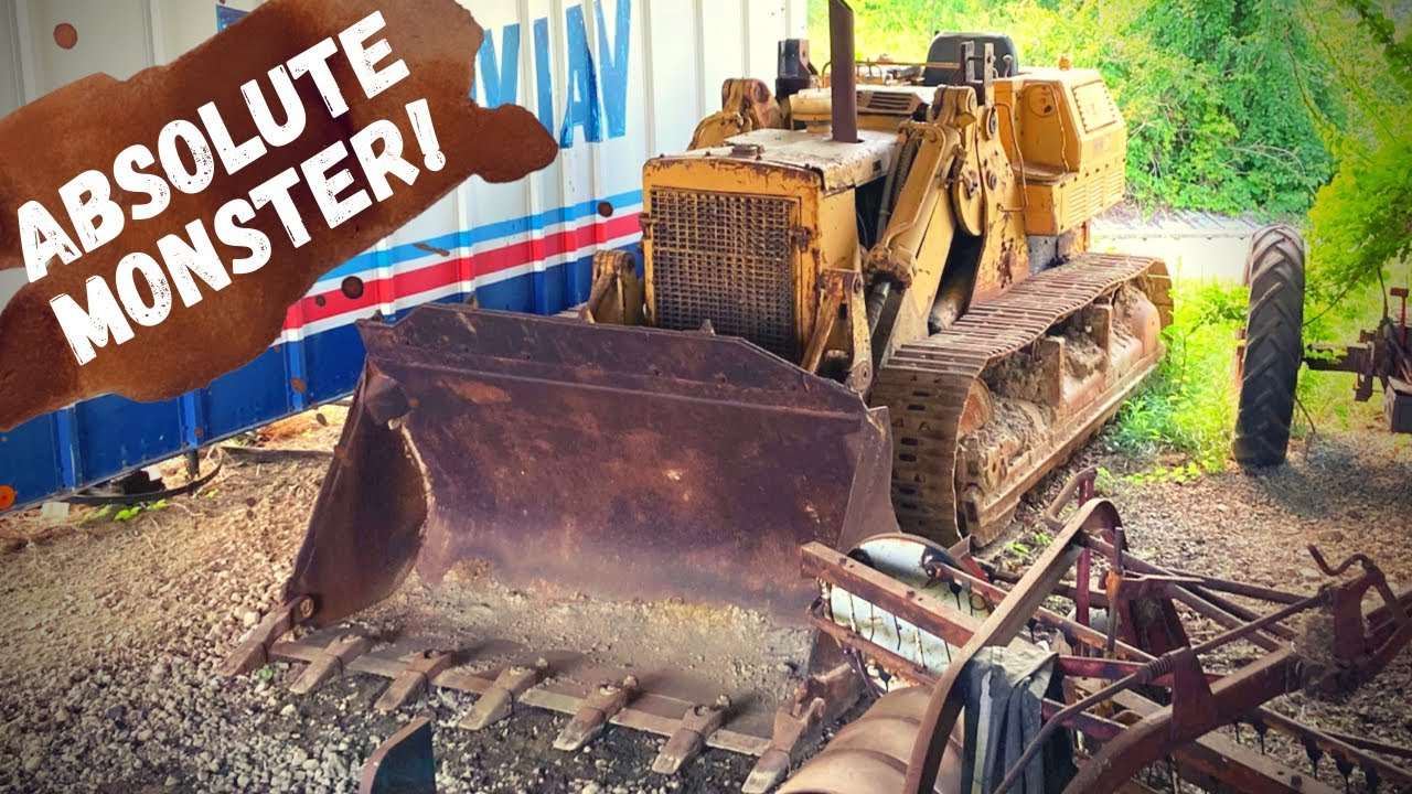Caterpillar 977k Track Loader sitting 12+ years. Will it Run and operate???
