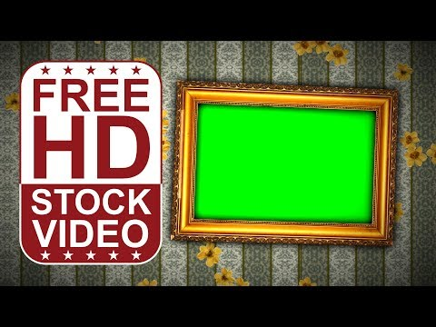 FREE HD Video Backgrounds – Animated Photo Frames With Old Painting Frames For Photos Presentation