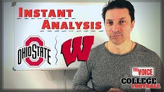 STILL #1? / Ohio State - Wisconsin BIG TEN CHAMPIONSHIP INSTANT ANALYSIS