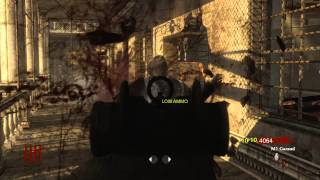 Call of Duty World at War Zombie Verruckt solo gameplay HD
