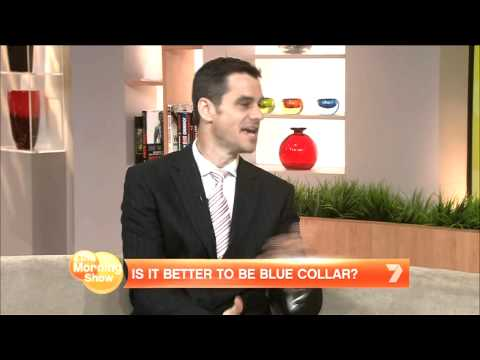The Rise of the Blue Collar Worker in Australia | Mark McCrindle [ MEDIA ]