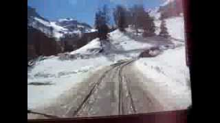 Pinzgauer (Swiss Army ATV) Snow ride