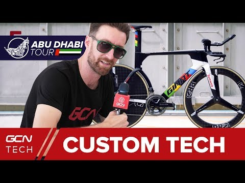 NEW Custom And Modified Racing Tech At The Abu Dhabi Tour 2018