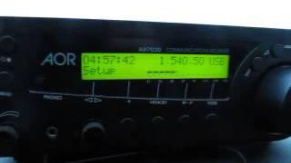 MW DX: Radio Turbo Mix 1540.5 kHz from Peru received in Germany