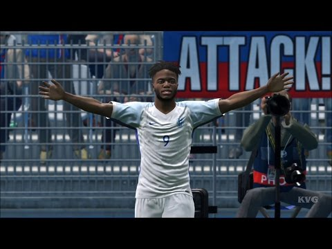UEFA Euro 2016 – PES 2016 – England vs Iceland | Gameplay (HD) [1080p60FPS]