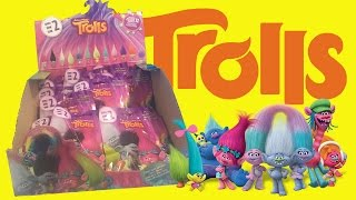 TROLLS BLIND BAGS UNBOXING Dreamworks Movie Series 2