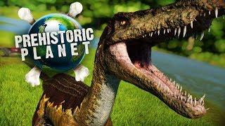 BARYONYX RIVER! WE'RE BACK! | Prehistoric Planet (Jurassic World: Evolution)