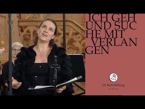 J.S. Bach - Cantata BWV 49 - Ich geh und suche mit Verlangen 4 Aria (J. S. Bach Foundation)