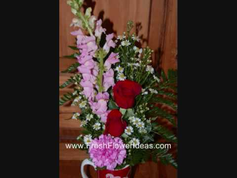 How to Make a Fresh Flower Arrangement for Valentine's Day