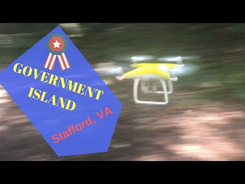 AMAZING DRONE aerial video of GOVERNMENT ISLAND