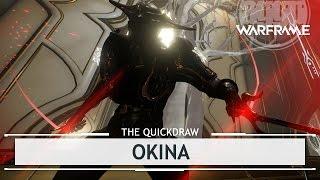 Warframe: Okina, Space Ninja.. Turtles? [thequickdraw]
