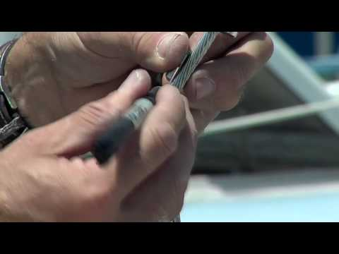 Attaching a Fitting To A Forestay Part One
