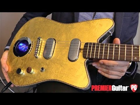 Holy Grail Guitar Show '18 - Versoul Custom Raya 6 and Buxom 12-string Demos
