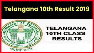 TS SSC Result 2019; Telangana 10th Result 2019; Manabadi TS 10th Result 2019 at bse.telangana.gov.in
