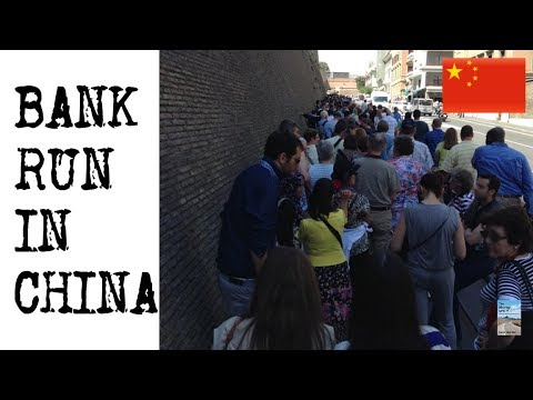 "BANK RUN in China! Billions in Withdrawals: ""The Taps are Gushing"""