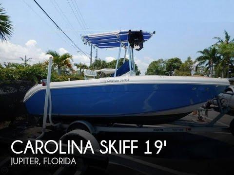 [UNAVAILABLE] Used 2005 Carolina Skiff 1900 Offshore Series in Jupiter, Florida