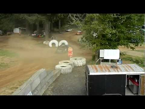 DB Racing 5-19-12 River City Speedway Crash 1