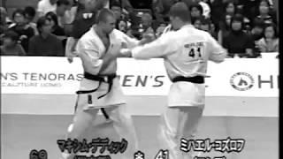 36 Чемпионат Японии. Бой Макс Дедик - Михаил Козлов