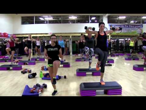 Cathe Friedrich's High Intensity Aerobic Weight Training with Step