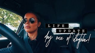 LIFE UPDATE | VLOGTOBER DAY ONE | Hello October