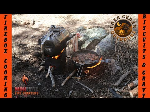 Firebox Cooking: Biscuits and Gravy