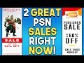 2 GREAT PSN Sales RIGHT NOW! PS+ September 2018 FREE Games Out Now!
