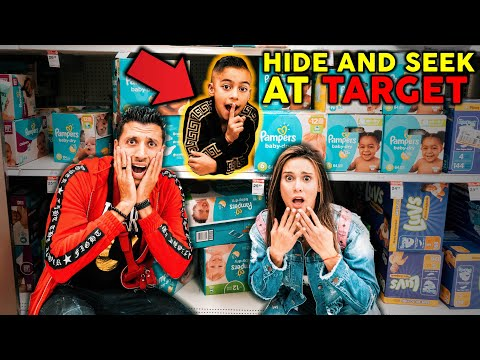 Hide And Seek At The Biggest Target! **WE LOST FERRAN**   The Royalty Family