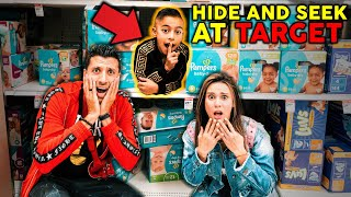Hide And Seek At The Biggest Target! **WE LOST FERRAN** | The Royalty Family