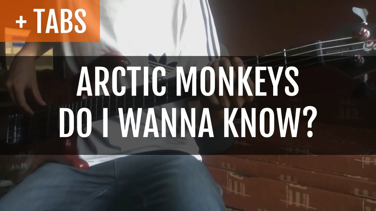 Arctic Monkeys Do I Wanna Know Bass Cover With Tabs Youtube