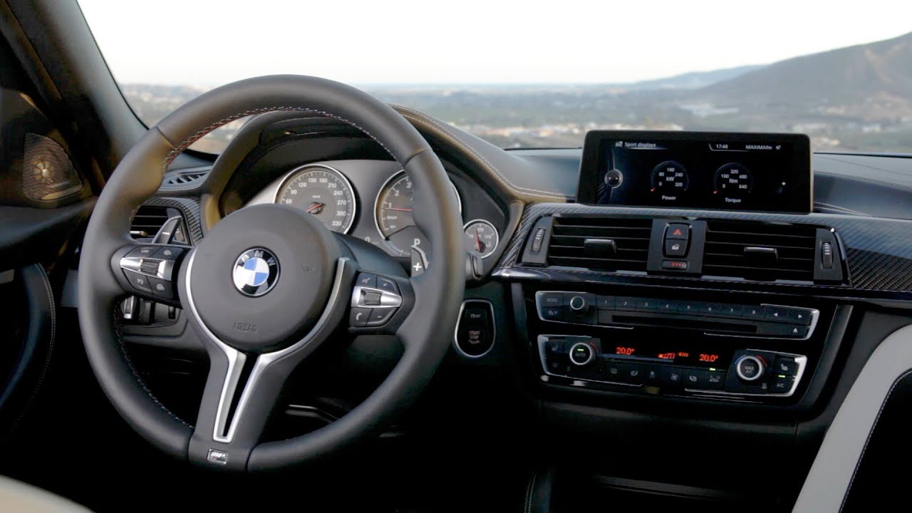 2014 Bmw M3 Sedan Interior Youtube