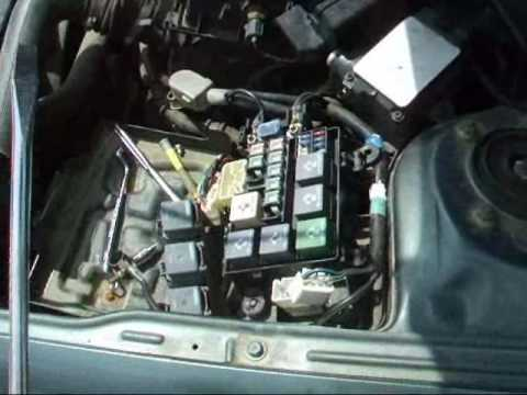 hqdefault how to replace 100 amp fuse in a mazda 626 youtube 1998 mazda 626 fuse box diagram at fashall.co
