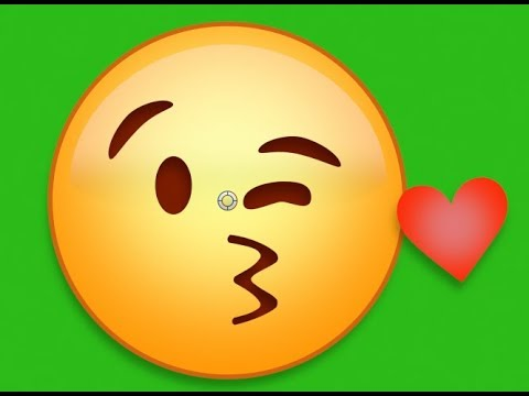 Love Emoji's Effect  Hd on Green Screen Free!