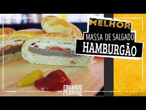 Hambúrguer De Forno - Salgados Assados De Padaria (Hamburgão!)