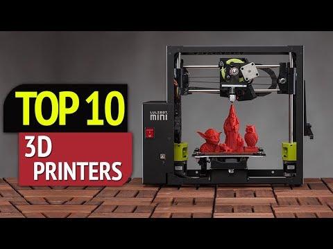 .3D 列印領域,在 2018 年出現的傑出成就和創作