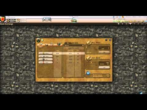 Stronghold Kingdoms Tutorial - Trading