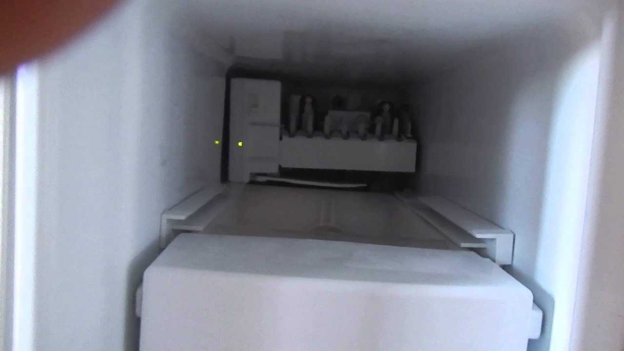 Ge Refrigerator Reset Ice Maker Youtube