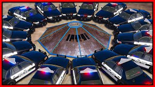 GTA 5 Roleplay - 360 FLIP CAR DESTROYS COPS | RedlineRP