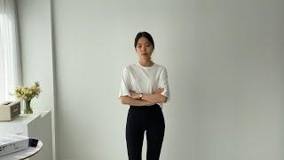 여자봄코디 흑청자켓 공항팬츠 | 사색 쇼핑몰 촬영 스케…