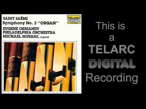 TELARC presents Camille Saint-Saëns - The Symphony No. 3 in C minor, Op. 78. Organ Symphony.