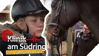 Reiten gegen Traurigkeit: Wieso erzählt Pia (12) ihre Sorgen dem Pferd? | Die Familienhelfer | SAT.1
