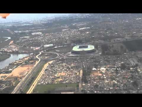 Arena do Grêmio, vista aérea de Porto Alegre
