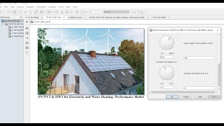 Photovoltaic/PVT & HWT | Electricity | Water Heating | Signal Builder | Excel Data Entry | Simulink