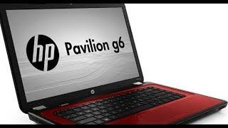 HP PAVILION g6-2137sr перегрев, разборка, чистка