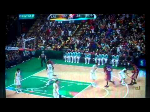 '87 Lakers vs '86 Celtics On NBA2k10 8.5 CRITICAL UPDATE(PS3)