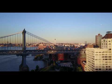 Brooklyn Bridge Park and Manhattan Bridge NYC DJI Mavic Pro