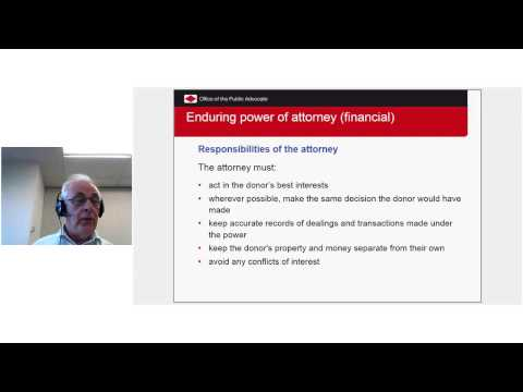 Take control: online seminar to explain Powers of Attorney