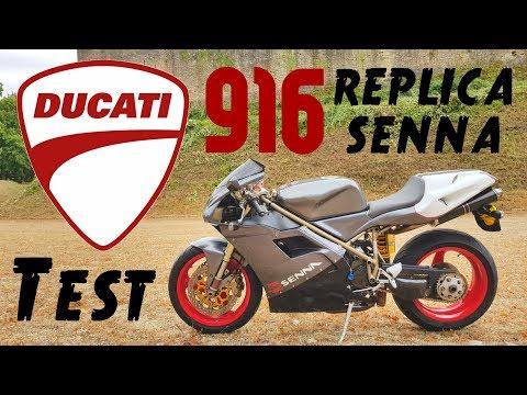 """La plus belle moto du monde """"DUCATI 916 senna"""""""