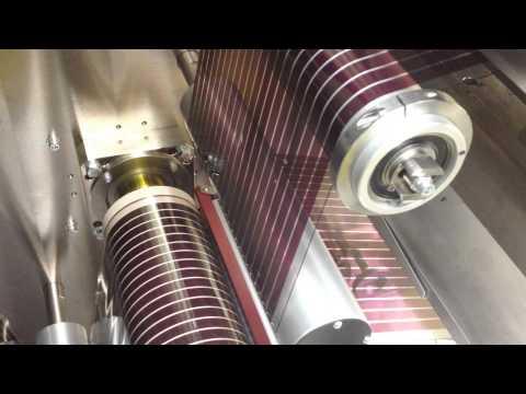 Printing Australia's largest solar cells