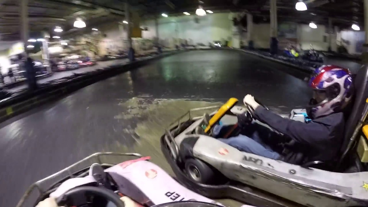 INDOOR GO-KART RACING ( 401 MINI-INDY TORONTO) - YouTube